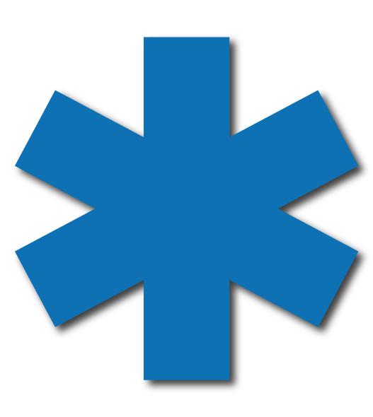 croix de vie pour ambulance et vsl par marquage-ambulance.com