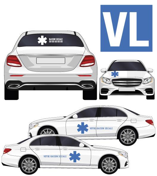 kit adhésif pour ambulances