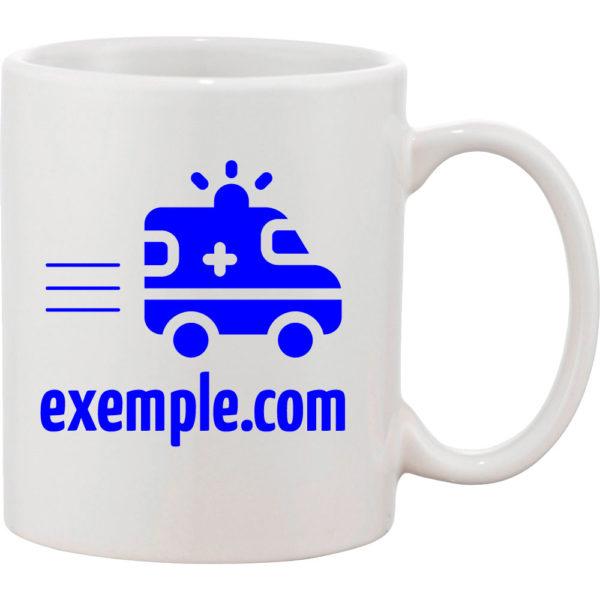 mug personnalisé par marquage-ambulance.com